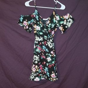 LUSH Floral patterned dress
